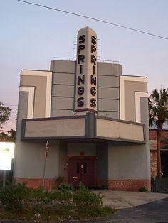 Sulphur Springs old movie theater