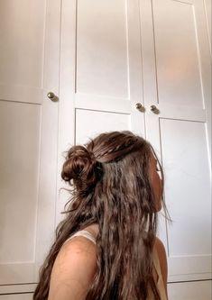 Hair Inspo, Hair Inspiration, Aesthetic Hair, Grunge Hair, Pretty Hairstyles, Braided Hairstyles, Hairstyles For Greasy Hair, Haircuts Straight Hair, Fall Hairstyles
