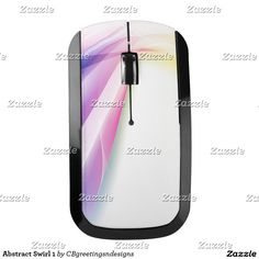 Abstract Swirl 1 Wireless Mouse