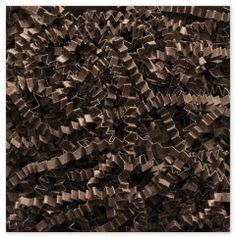 "Chocolate Crinkle Cut Fill • Size Choice: 10 lb Box or 40 lb Box • 10 lb. box of fill measures 24"" L x 16"" W x 12"" H • 40 lb. box of fill measures 24"" L x 18"" W x 41"" H • Made of 100% Recycled Paper • Recyclable • Made in the USA • Crinkle Cut is a Trademark of Spring-Fill Industries, Inc. • Please allow 3 - 5 business days for processing • Additional time might be required during peak holiday season • Price is for one box of Crinkle Cut Eco-Spring Fill"