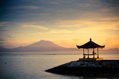 Enjoying the sunrise, Sanur, Bali   Dirk Wuestenhagen Imagery