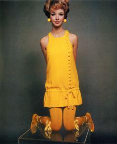 Maudie James, 1967 by DavidBailey