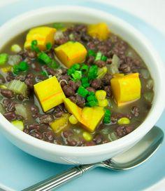 Aduki Bean Soup #recipe #EdenFoods