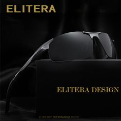 7749aea985 Elitera aluminio marca new travel conducción gafas de sol polarizadas de  los hombres gafas de sol