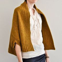 """podkins: """" Ooooh I love this. And the yarn colour! Inversion Cardigan by Jared Flood - pattern available to purchase HERE """""""