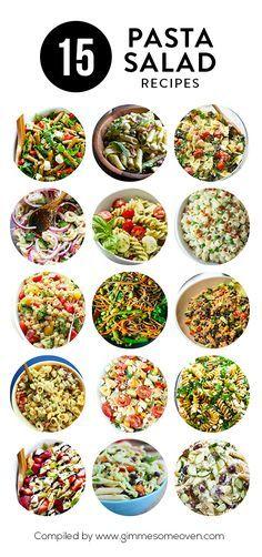 A delicious collection of 15 pasta salad recipes Comida Picnic, Cooking Recipes, Healthy Recipes, Easy Recipes, Keto Recipes, Zuchinni Recipes, Turkey Recipes, Crockpot Recipes, Vegetarian Recipes