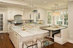 küchengestaltung traumhaft weiß küche