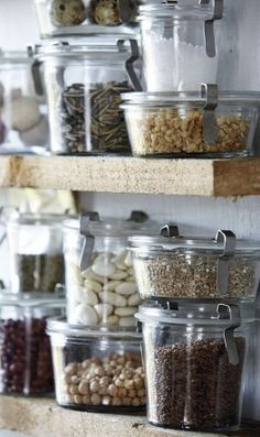 storage weck jars