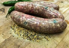 This spicy variation on our homemade fresh bratwurst will leave you wanting more with every bite. Check out our other flavors of bratwurst! Grilling Recipes, Pork Recipes, Gourmet Recipes, Vegetarian Recipes, Cooking Recipes, Cooking Corn, Cooking Games, Cooking Turkey, Quick Recipes