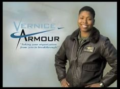 Vernice Armour  America's First African American Female Combat Pilot
