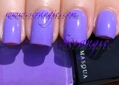Illamasqua Jo'Mina~  The most amazing polish to apply and a totally gorgeous color.  Many thanks to Scrangie for getting the color right in the photo.  It's spot on.