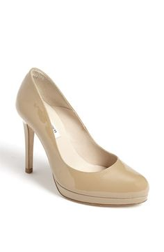 8ff2fccd63b2 Bennett Sledge Pump Taupe- a pair of nude pumps for all occasion.