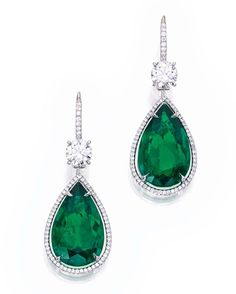 8.13 and 8.06 carat Colombian emerald earrings sold @sothebys last year $610k - $37,000 per carat, treatment minor and insignificant. The upward trend in prices realised at auction, for fine quality coloured stones and jewellery demonstrates their viability as an alternative investment and concentrated store of wealth fine jewels should form part of every serious investor's portfolio