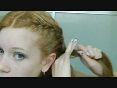 Hey everyone! So I have made a video on how to french braid your hair, but in this video I will be showing you how to get it neat. So hope this helps you :)  Like me on Facebook! - http://www.facebook.com/#!/lalastar0002  This is where I learned how to do my nails in this video - http://www.youtube.com/watch?v=1FvYIJrQkNg=plcp  Chloe :)