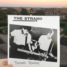 "The Strand - Seconds Waiting 12"" LP (Dig! Records)"