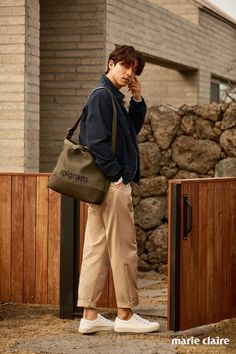 Gong Yoo relaxes after Goblin with low-key photo shoot in Jeju Island for Marie Claire Gong Yoo, Marie Claire Magazine, Korean Military, Kyung Hee, Goong, Jeju Island, Fashion Books, Lee Min Ho, Goblin