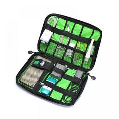 Cheap accessories bar, Buy Quality organizer earrings directly from China organizer holder Suppliers: New Electronic Accessories Travel Bag Nylon Mens Travel Organizer For Date Line SD Card USB Cable Digital Device Bag Cable Storage, Bag Storage, Cord Storage, Secure Storage, Electronics Projects, Consumer Electronics, Bags Travel, Travel Items, Travel Products