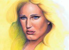 White Canary  #WhiteCanary #SaraLance #LegendsOfTomorrow #Arrow #MixedMedia #FanArt White Canary, Major Events, Arrow, Mona Lisa, Fanart, Graphic Design, Artwork, Work Of Art, Fan Art