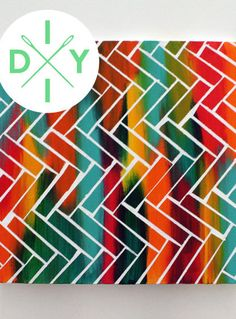 This Easy DIY Is A Real Work Of Art+#refinery29