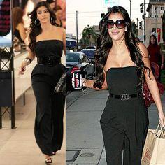 Free-Shipping-Celebrity-Dresses-Kim-Kardashian-Jumpsuit-Red-Carpet-Dresses-V-Neck-Off-the-shoulder-Custome