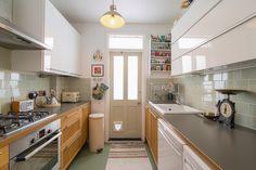 Warner ground floor galley kitchen