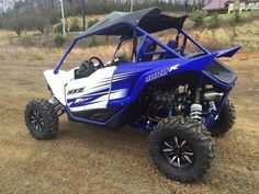 New 2016 Yamaha YXZ1000R RACING BLUE AND WHITE ATVs For Sale in Tennessee. THE WORLD'S FIRST PURE SPORT SIDE BY SIDEThe all-new YXZ1000R. A sport 3 cylinder engine and class-defining 5-speed sequential shift transmission. Welcome to the ultimate pure sport SxS experience.