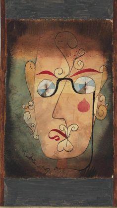 Paul Klee Komische Alte 1923
