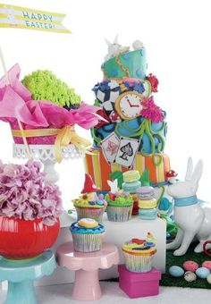 A colourful Easter celebration - Belle's Patisserie Easter 2014, Easter Colors, Easter Celebration, Children, Cake, Pretty, Toddlers, Boys, Pie