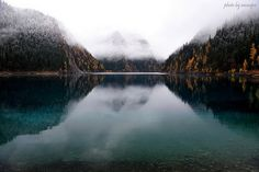 Long Lake, Jiuzhaigou Valley Scenic and Historic Interest Area, Nanping County, Sichuan Province, Southwestern China