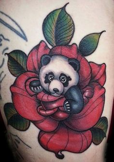 Tatt, Old School, Cartoon, Flowers, Bears, Cartoons, Comic, Royal Icing Flowers, Floral