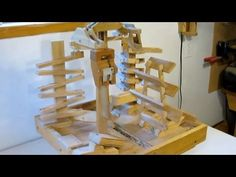 Marble machine 1 (more details)