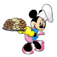 Minnie baked some real good cookies.