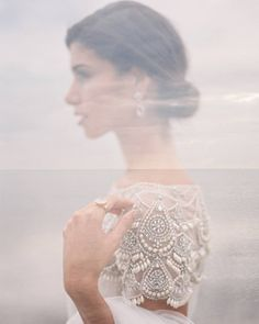 Throwing back to one of my favorite double exposures ever with @beautyindmaking @marchesafashion @chicparisien. Turns out it's been a bit of a hit on Pinterest too #wehadnoidea #richardphotolab #fuji400h #doubleexposure by featherandstonephotography
