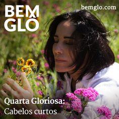 Gloria conta um pouco hoje sobre o histórico de seus cortes nas novelas e explica por que prefere manter o cabelo sempre curto. ;) Vem ver! #bemglo #quartagloriosa #cabelocurto