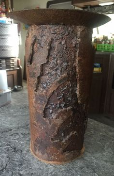 Offered for sale is a Vintage Brutalist Welded Torch Cut Steel Sculpture Candle holder or Pedestal. Angel Sculpture, Horse Sculpture, Black Forest Wood, Bear Statue, Brutalist, Pendant Set, Pedestal, Candle Holders, Candles