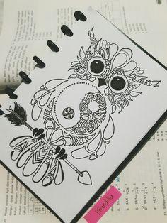 Imagen de art, doodle, and owl
