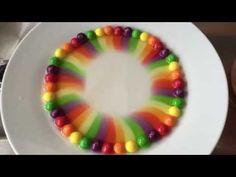 Rainbow Magic with Skittles Candies! - YouTube