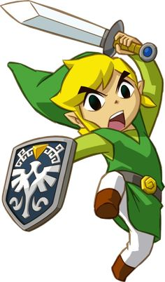 Link - Legend of Zelda: The Wind Waker