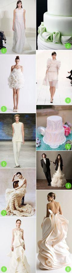 Top 10: Modern ruffles | 2