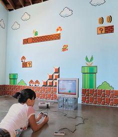 Nintendo Super Mario Bros Wall Decals