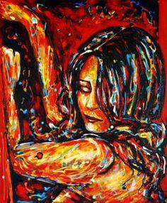 Original Women Painting by Diana Francia Gomez Ordonez Diana, South American Art, Art Pictures, Art Pics, Woman Painting, Saatchi Art, Original Paintings, The Originals, Face