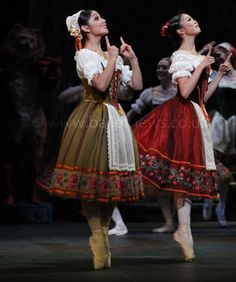 English National Ballet's production of Coppelia photographed by Cheryl Angear