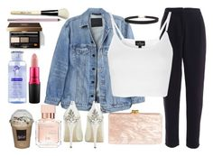 """""""Touch."""" by carla-limitededition ❤ liked on Polyvore featuring Maison Francis Kurkdjian, Y/Project, Topshop, HARRIET WILDE, Edie Parker, Humble Chic, Klorane, Bobbi Brown Cosmetics, MAC Cosmetics and Urban Decay"""