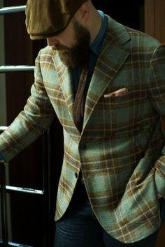 Garderobens hörnstenar - Tweedkavajen