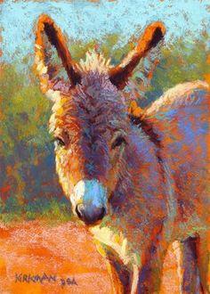 "Daily Paintworks - ""Zinnia - day 4"" - Original Fine Art for Sale - © Rita Kirkman"