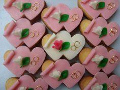 Srdíčka do výslužek Christening, Sweets, Cookies, Cake, Instagram Posts, Wedding, Food, Google, Games