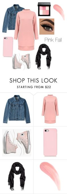 """""""Falling into And Pink Fall"""" by wow-itsjt ❤ liked on Polyvore featuring A.P.C., Madewell and Bobbi Brown Cosmetics"""