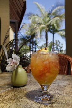 """Rum, the Tommy Bahama Way""  Jack Terry, head rumologist at Tommy Bahama, believes good times and good cocktails go hand-in-hand. Click through for Tommy Bahama's five most popular rum cocktails."