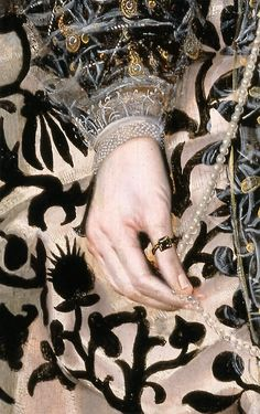 Mary Clopton by Robert Peake the Elder, 1600