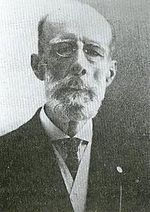 """Braulio Dueno Colon.JPG1854--1934), musician and composer, was born on March 26, 1854 in San Juan. Dueño is considered one of Puerto Rico's greatest composers, his most important contribution is perhaps the collections of school songs he wrote specifically for the island's schools, """"Canciones Escolares"""" (1912), which were co-written with Virgilio Dávila and of Manuel Fernández Juncos."""